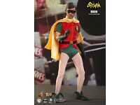 BURT WARD-BATMAN MMS219 ** UK ** HOT TOYS Robin 1966