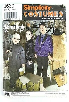 The Adams Family Costume (Simplicity Costumes #0630 The Adams Family Size A (SM-LG) Childrens)