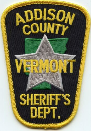 ADDISON COUNTY VERMONT VT SHERIFF POLICE PATCH