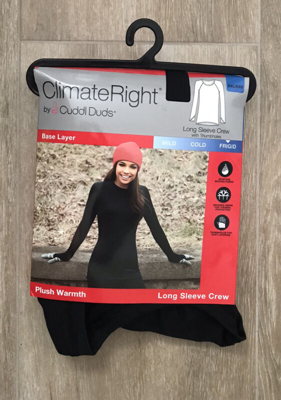 ClimateRight by Cuddl Duds Women