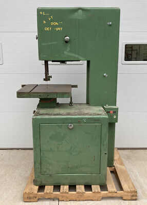 Industrial Powermatic Model 81 Vertical Band Saw Working Condition