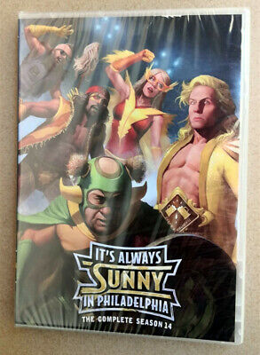 It's Always Sunny in Philadelphia Season 14 DVD Fast shipping First Class Mail