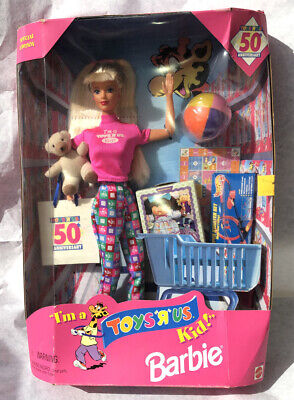 Mattel Barbie I'm A Toys R Us Kid Special Edition Doll In Box Vintage