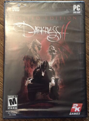 Computer Games - Darkness II PC DVD ROM Limited Edition Computer Game Brand New Sealed