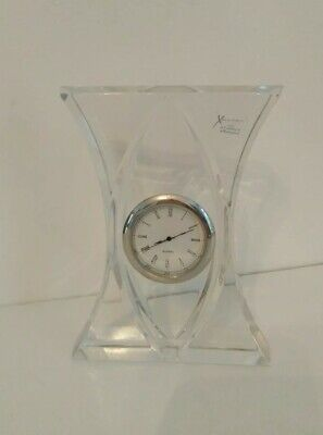 Xavier Art Deco Crystal Clock