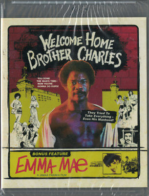 Welcome Home Brother Charles   Emma Mae Combo Blu Ray New