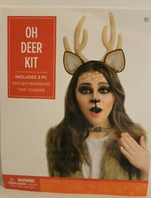 Suit Yourself Women Adult Standard Pun Funny Oh Deer Costume Accessory NIP