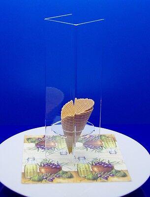 sudu® Eiswaffelhalter Eistütensilo Eistütenhalter für 30 große Eistüten