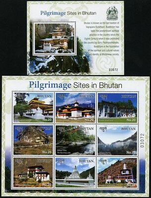 Bhutan 2017 Pilgerfahrt Klöster Dzong Religion Buddhismus See Mebar Tsho MNH
