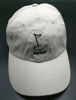 BEST BUY CHARITY GOLF CLASSIC 2003 beige adjustable cap /