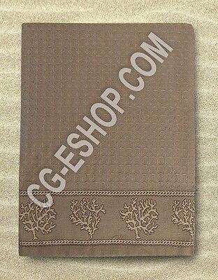 TELO MARE NIDO D'APE 90X160 asciugamano no spugna no microfibra CORALLO BEIGE