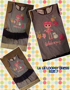 Girls size 7 La La Loopsy Dress Ormeau Gold Coast North Preview