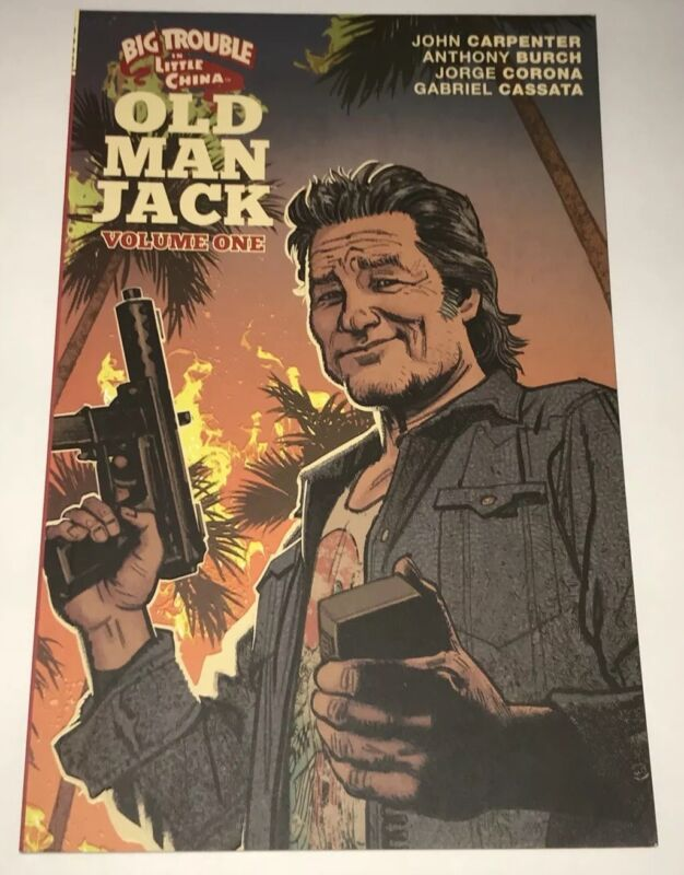 John Carpenter Signed BIG TROUBLE IN LITTLE CHINA OLD MAN JACK Book PROOF