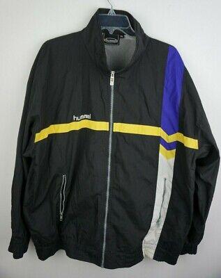 Men's Vintage Hummel Tracksuit Top Size XL Sports Jacket