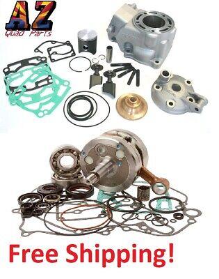 03-05 Kawasaki KX125 KX 58mm Athena Big Bore Cylinder Crank Motor Rebuild Kit