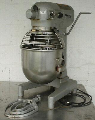 Hobart A200 20qt Commercial Dough Mixer W Stainless Bowl Guard Timer 1ph