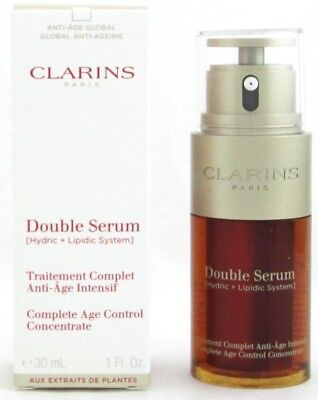 Clarins Double Serum Complete Age Control Concentrate 1.0 oz New 2017 Edition