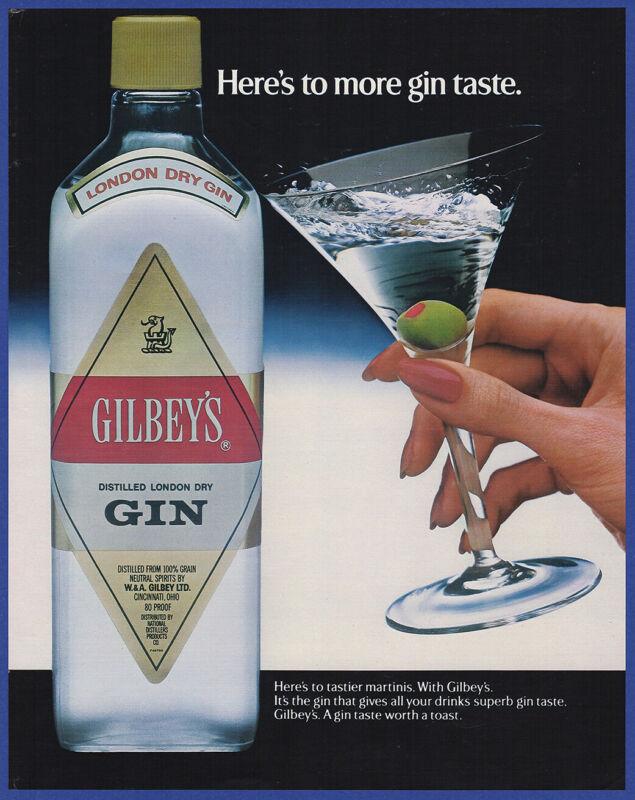 Vintage 1984 GILBEY