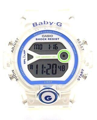 CASIO BG6903-7D BABY-G Digital White Dial White Resin Band