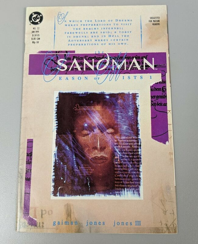 THE SANDMAN #22 - 1st Appearance of Daniel Hall & Mazikeen - DC 1991 - VF/NM!!!
