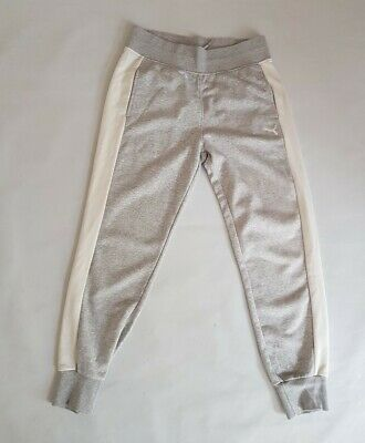 Womens Puma Grey Track Pants/ Bottoms / Trousers Size UK 14