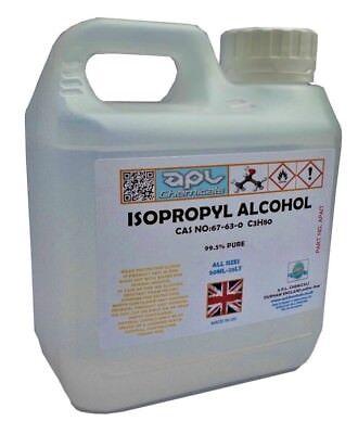 IPA Isopropyl Alcohol, Isopropanol -1 LITRE 99.9% 1 LT  ISOPROPANOL ALCOHOL IPA