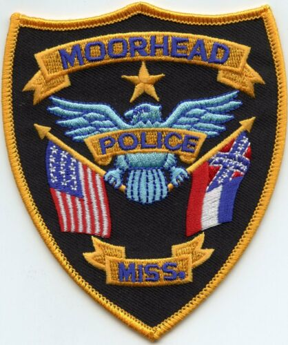 MOORHEAD MISSISSIPPI MS POLICE PATCH