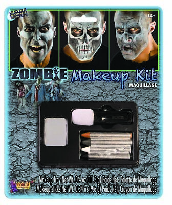Zombie Halloween Face Paint Character Costume Makeup Kit