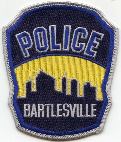 BARTLESVILLE OKLAHOMA OK City Skyline POLICE PATCH