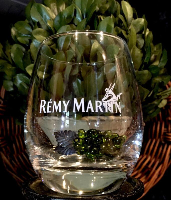 Limited Edition REMY MARTIN Satin Etch Centaur Round Rocks Glass  PRISTINE!