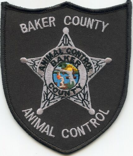 BAKER COUNTY FLORIDA FL Animal Control SHERIFF POLICE PATCH