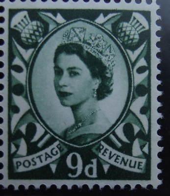 SCOTLAND  PRE-DECIMAL SG  S4  1958  TO  1967  9d  MNH