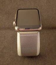 Apple Watch - 42mm Stainless Steel Case with Milanese Loop band Castle Hill The Hills District Preview
