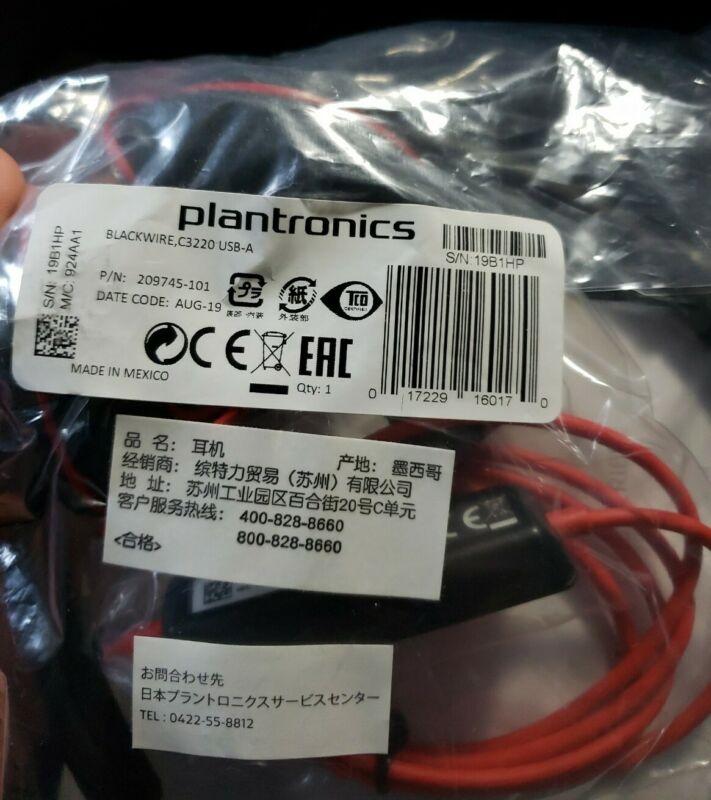 Plantronics headset Blackwire C3220
