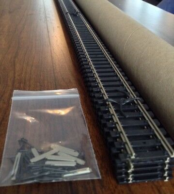 Atlas #168 CODE 100 SUPER FLEX TRACK N/S 5 PK HO 10 Rail Joiners 50 Track Nails