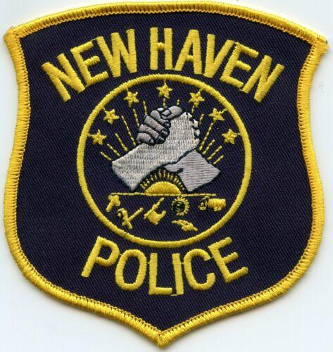 NEW HAVEN MICHIGAN MI POLICE PATCH