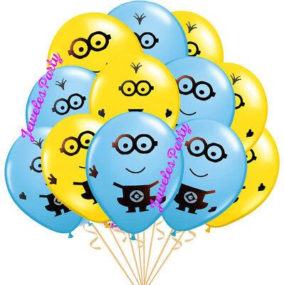 MINION MINIONS BIRTHDAY BALLOON BALLOONS PARTY DECORATION SUPPLY DESPICABLE ME - Birthday Minion