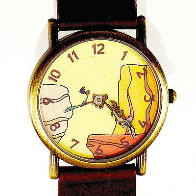 Wile Coyote, Road Runner Fossil New Never Worn Warner Bros Watch Collection $115