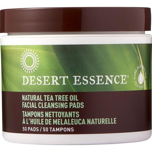 Desert Essence Natural Tea Tree Oil Facial Cleansing Pads Or
