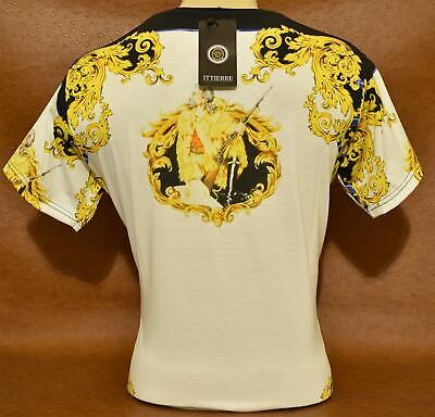 Brand New With Tags MEN'S VERSACE Slim Fit T-SHIRT Size M-L-XL-2XL