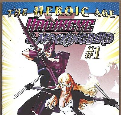 Hawkeye & Mockingbird #1 Avengers & Agents of SHIELD from Aug. 2010 in VF con. (Hawkeye From Avengers)