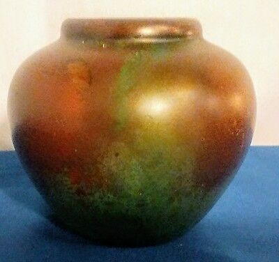 Clewell Signed And Numbered Copper-Clad Art Pottery Vase