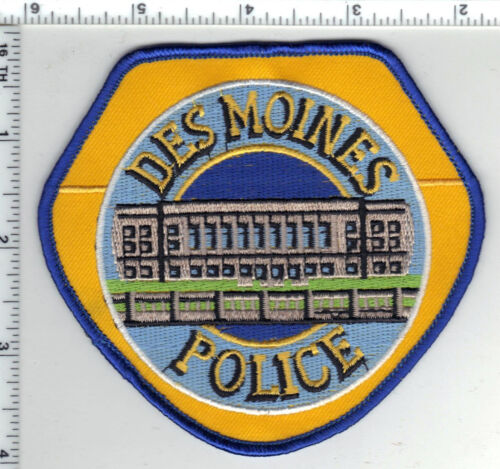 Des Moines Police (Iowa) 1st Issue Shoulder Patch - new