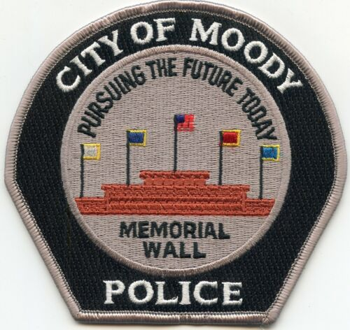 MOODY ALABAMA AL Pursuing The Future Today POLICE PATCH