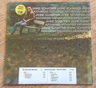 """Janne Schaffer """"Katharsis"""" promo vinyl LP 1976"""