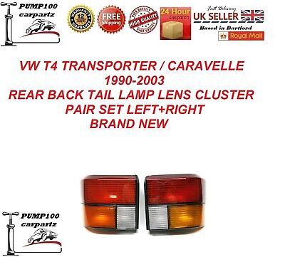VW T4 VOLKSWAGEN TRANSPORTER 90-03 FRONT INDICATORS REPEATERS PAIR L+R AMBER