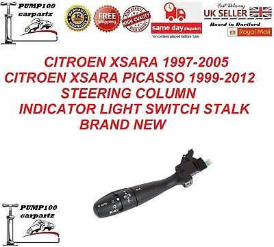 CITROEN XSARA / XSARA PICASSO  STEERING COLUMN INDICATOR LIGHT SWITCH STALK NEW