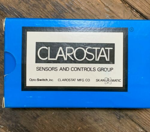 CLAROSTAT 462 POTENTIOMETER DIAL NEW IN PACKAGE