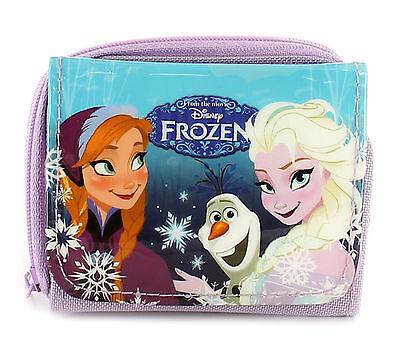 Official Disney Frozen - Anna Elsa & Olaf - Folding Wallet Purse