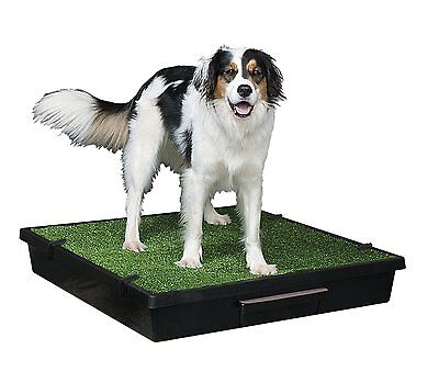 Portable Pet Potty Training Pad Dog Puppy Grass Toilet Travel Urine Waste Clean
